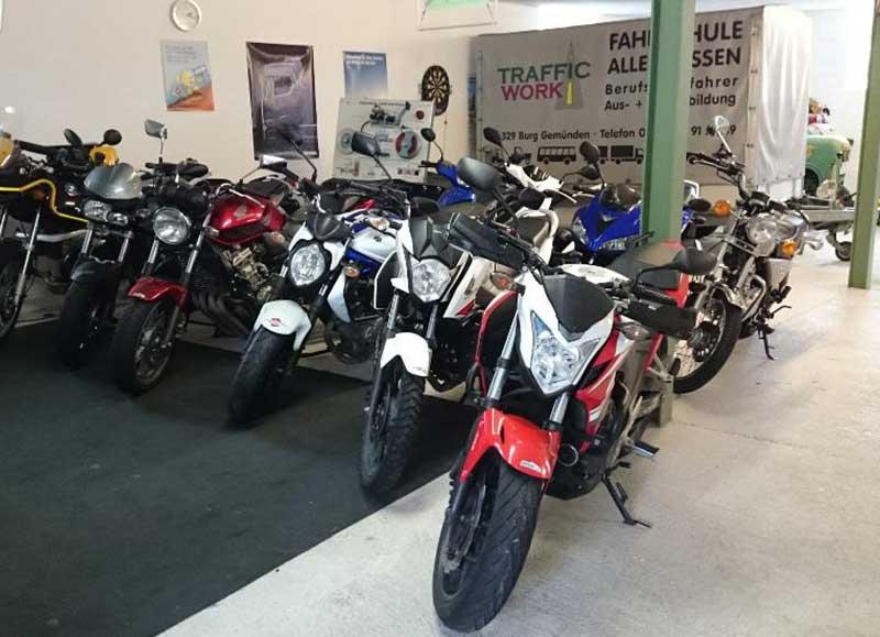 Traffic Work Motorräder